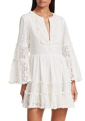 Alexis Norwa Beaded Lace Dress