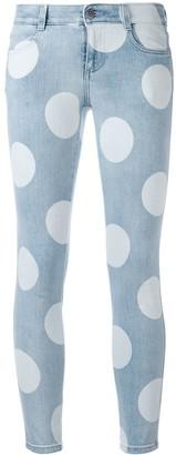 Stella McCartney Polka Dot Skinny Jeans
