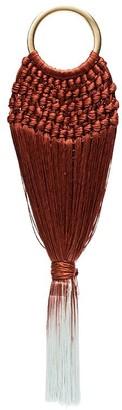 Cult Gaia terracotta ombre Angelou mini bracelet bag