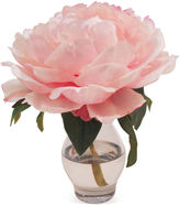 The French Bee 7 Peony in Vase, Faux