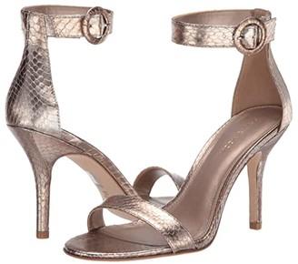 Pelle Moda Kallie (Brushed Metallic Snake) Women's Shoes
