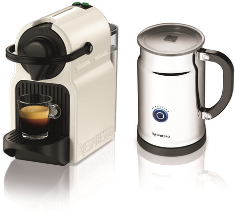 Nespresso Inissia Aero+On Pack Coffee Maker