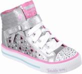 Skechers Kids' Twinkle Toes Shuffles Starry Spirit Sneaker Toddler