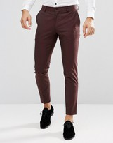 Jack and Jones Skinny Suit Pants
