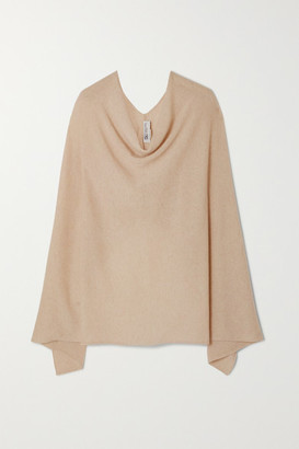 Johnstons of Elgin Cashmere Poncho - Neutral