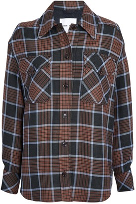 Samsoe & Samsoe Kora Checked Shirt Jacket