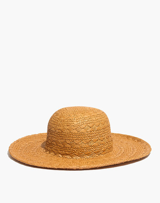 Madewell Braided Straw Sun Hat