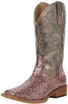 Roper Women's Bling Square Toe Riding Boot