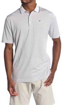 Callaway Golf Micro Stripe Golf Polo