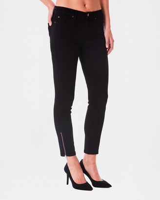 Nicole Miller tribeca Mid Rise Ankle Skinny Jean