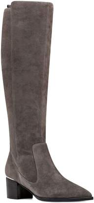 Nine West Leather Pointy Toe Tall Boots- Hartley