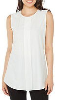 Peter Nygard Front Pleat Blouse