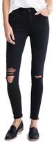 Madewell Women's High Waist Raw Hem Skinny Jeans