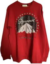 Gucci Red Cotton Knitwear