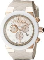 Mulco Women's MW5-2552-113 Couture Analog Display Swiss Quartz Beige Watch
