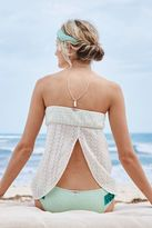 aerie K Ti Per Te Strapless Crochet Dress