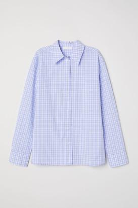H&M Checked cotton shirt