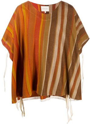 Nicholas Daley striped relaxed T-shirt