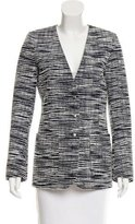 Louis Vuitton Bouclé Structured Blazer
