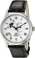 "Orient Classic ""Sun and Moon"" Automatic Dial Men's Watch (Model:FET0T002S0)"
