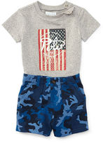 Ralph Lauren Graphic Tee & Camo Short Set