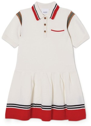 Burberry Kids Striped Polo Shirt Dress (3-12 Years)