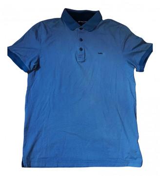 Michael Kors Blue Cotton T-shirts