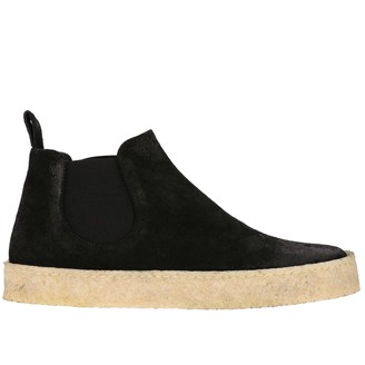 Marsèll Cassapara Ankle Boots In Suede With Rubber Sole