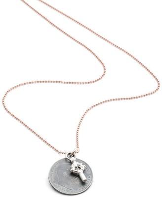 Harry Rocks King Edward Coin & Key Charm Necklace
