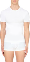 Spanx Light compression stretch-cotton t-shirt