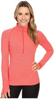 Mountain Hardwear ButterliciousTM Stripe Long Sleeve 1/2 Zip
