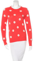 Equipment Cashmere Polka Dot Sweater