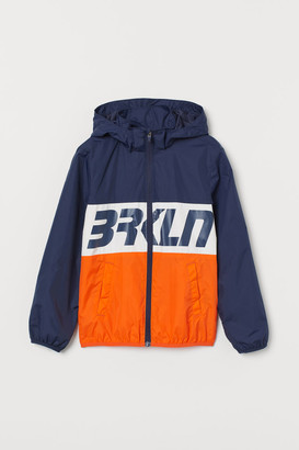 H&M Hooded Windbreaker - Orange