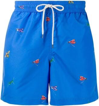 Polo Ralph Lauren Dragonfly Print Swim Shorts