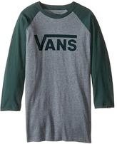 Vans Kids Vans Classic 3/4 Sleeve Raglan (Big Kids)