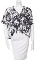 Stella McCartney Short Sleeve Floral Print T-Shirt