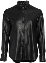 The Kooples Faux Leather Shirt