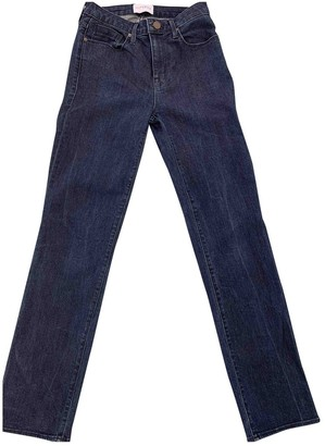 Parker Smith Blue Cotton - elasthane Jeans for Women