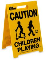 "Kid Kusion Portable ""Children Playing"" Driveway Safety Sign"