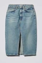 Thumbnail for your product : Weekday Wynn San Fran Denim Skirt - Blue