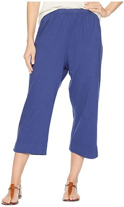 Fresh Produce Jersey Capri Pants (Moonlight Blue) Women's Capri