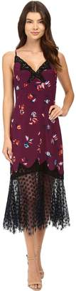 Rebecca Taylor Women's Sl Bellflr SLP Dress