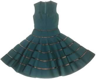 Alaia Green Viscose Dresses