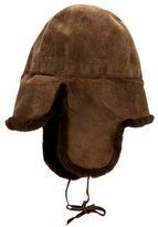 Hermes Shearling Trapper Hat