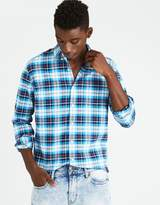 American Eagle Outfitters AE Classic Plaid Oxford Shirt