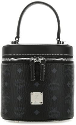 MCM Cylinder Bucket Bag