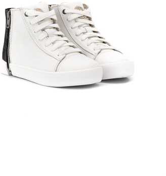 Diesel Side Zipped Fastening Sneakers