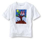 Classic Little Kids' Essential Graphic T-shirt-Vivid Cobalt