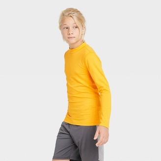Boys' Long Sleeve Fitted Performance Mock Neck T-Shirt - All in MotionTM
