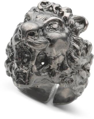 Gucci Fashion Show Lion Head Ring